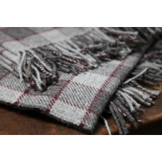 Grey & Scarlet check throws BBT02