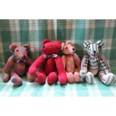 Pretty in Pink . Teddy bears