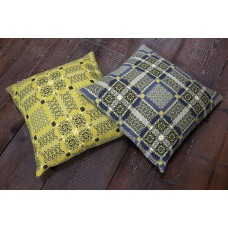 Melin Tregwynt Knot Garden GORSE Cushions CZ99