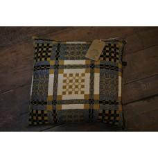 Elfed woollen mill cushion . Mustard CZ48