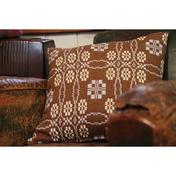 Cinnamon & Blue Peony  Cushions  CZ90