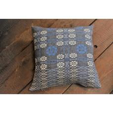 Grey & Flax Blue Peony cushions CZ09