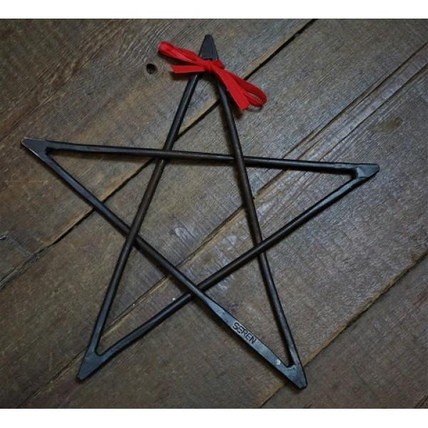 SEREN hanging hand forged Star.