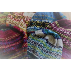Hand knitted fairisle hats