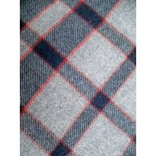 Aberaeron Mill Checked blanket           NL65