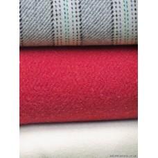 C19th Narrow width undyed Cream blanket NL108