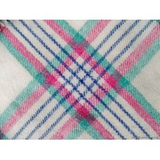 Welsh tramline plaid baby blankets from Pantolwen Mill BB106