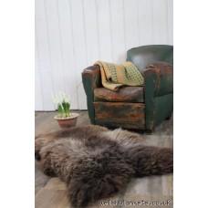 Black Welsh Mountain, Rare breed, sheepskin, rug