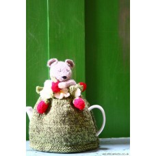 Hand knitted Dormouse & Strawberrys cosy TC53