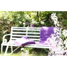 Big violet pure wool English blankets CC15