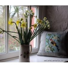 Garden Birds. Chaffinch & Goldfinch Cushions NP04