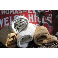 Ladies hand knitted pure wool socks . Eira