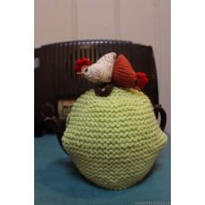 Chicken Tea cosie. Un , Dau, Tri  TC72