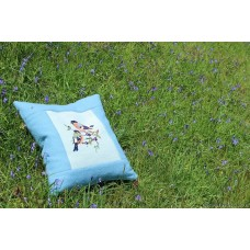 Bullfinches cushions . Coch y Berllan CZ71