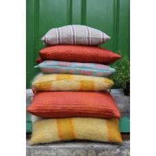 Mohair cushions Primrose plaid CZ44