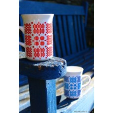 Welsh tapestry design mugs