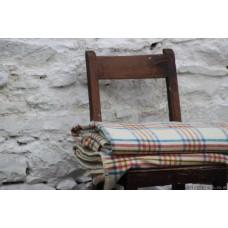 Unused Mid Century plaid Welsh blanket CPN31