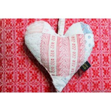 Quilt hearts.