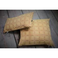 Banoffie Pie. Mid Century fabric cushions CZ63