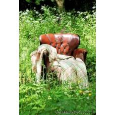Welsh Four fringed Carmarthenshire carthen blanket FBNL09