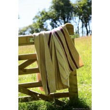Cilcennin Mill striped blanket NL89