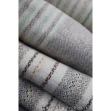 Narrow Width blanket. warm neutrals NL80