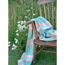 Peppermint Cream Plaid DERW blanket CP47