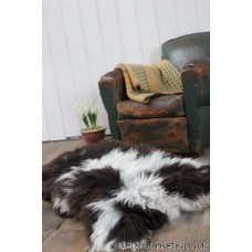 Pure sheepskin rug .   Jacobs R03