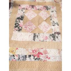 Childs quilt C1900 with embroidered signatures  Q20