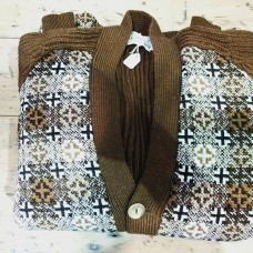 Frame Knitted Hipster Cardigan HIP01