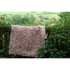 Autumn Gold & Blush Pink Welsh Quilt. Q72