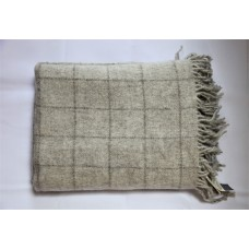 Natural undyed soft throws. Jacob & Mohair T22