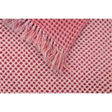 Candyfloss pink Honeycomb quilt CPH46