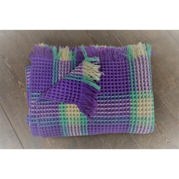 Lavender & Peppermint Honeycomb Quilt CPH53