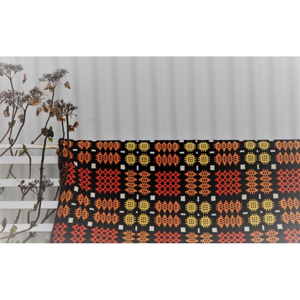 Tiger Vintage Welsh Tapestry Bedcover Tbv888